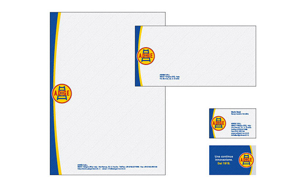 adige stationery design