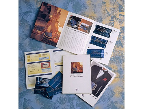 Brochure design, marketing diretto