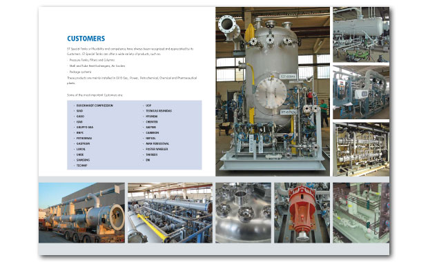 Brochure design, company profile